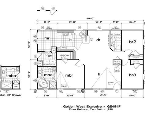golden west exclusive floorplans starhome