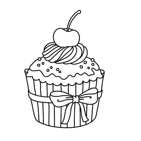 Juwelenkist Kleurplaat kleurplaat cake artismonline nl