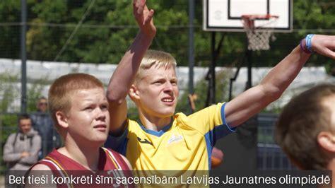 Ventspilnieki piedalās Latvijas Jaunatnes Olimpiādē - YouTube
