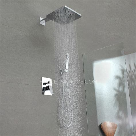 High End Shower Heads - high end concealed wall mount top shower faucet system
