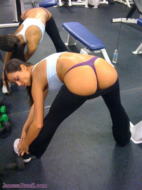 Janessa Brazil Candid Workout Pics