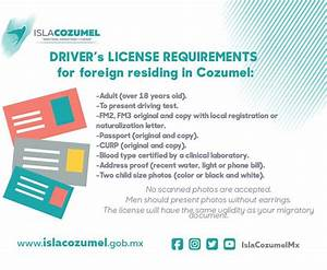 Cozumel news january 13th 2017 the cozumel sun news for Documents required for driving license