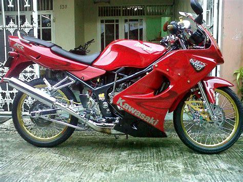 Rr Jari Jari by Modifikasi Motor Kawasaki Rr Merah Velg Jari Jari