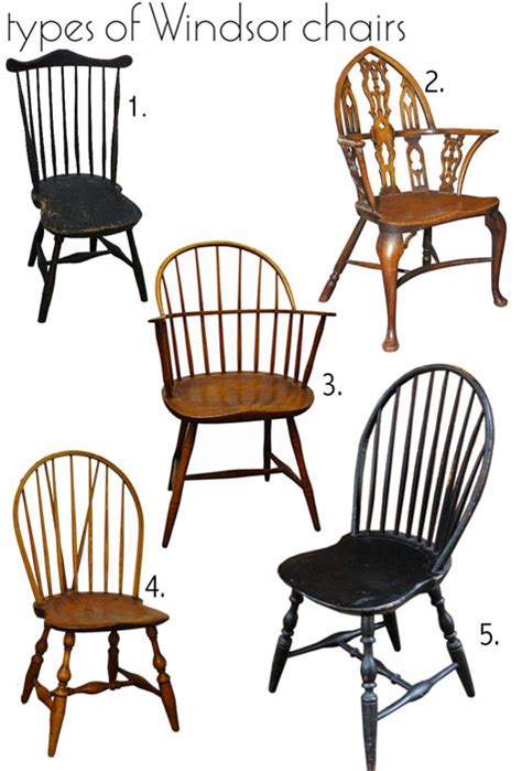 Past & Present Windsor Chair History + Resources Design