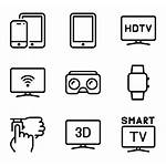Smart Device Devices Icons Psd Eps Svg
