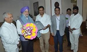 KTR invites Union Minister Hardeep Singh Puri for ...