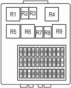 Ford Focus  1998 - 2007   U2013 Fuse Box Diagram