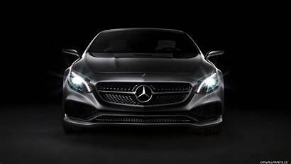 Mercedes Benz Class Coupe Concept Wallpapers Fond