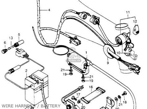 honda ct70h wiring diagram honda z50m wiring diagram