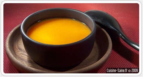 recette de cuisine bio recette minceur bio soupe de potiron et carotte au