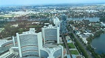 Vienna - Donaustadt (Donau City) and Donau City Tower (DC ...