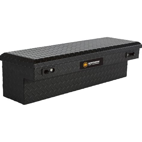 Small Truck Bed Tool Box by Northern Tool Equipment Flush Mount Matte Black Truck