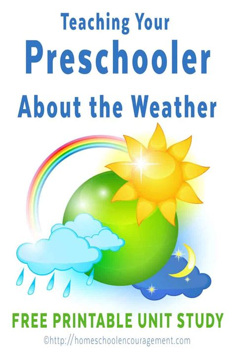 preschool weather unit 608 | A Weather Unit Study for Preschool