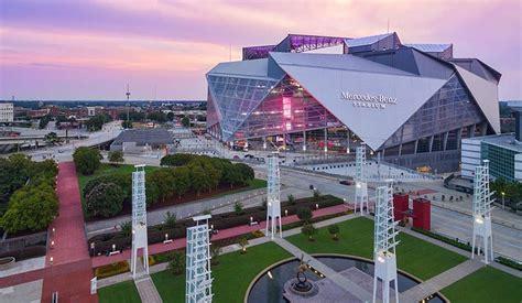 Atlanta's Mercedes Benz Stadium, home of SEC championship ...