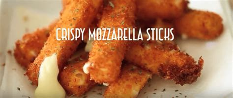 Epic Crispy Fried Mozzarella Sticks  Yummy Tummy Zone