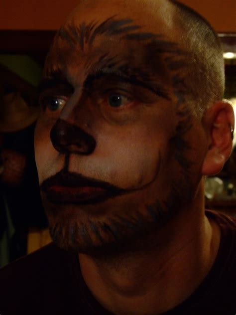 big bad wolf     create  face painting