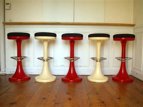 fournitures bureaux tabouret de bar en pvc de couleur stools vintage jpg
