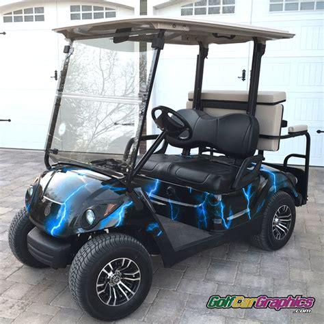 Lightning Blue Golfcargraphicscom