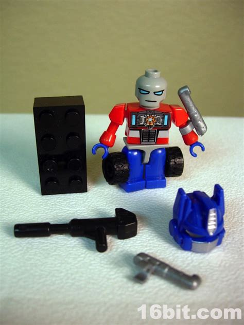 Promo Set Kulot Prime 16bit figure of the day review hasbro kre o promo