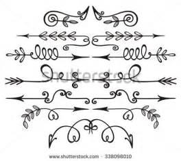 Decorative Hand Drawn Arrow Clip Art