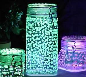 Buegel Clou Selber Machen : f r schlafm tzen und nachteulen leuchtglas mit funkelnden ~ Lizthompson.info Haus und Dekorationen