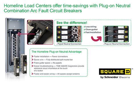 Square Homeline Amp Single Pole Plug Neutral Cafci