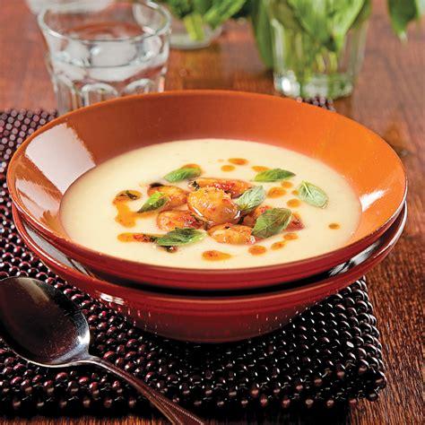 cuisine poireaux crème de poireaux et gnocchis recettes cuisine et