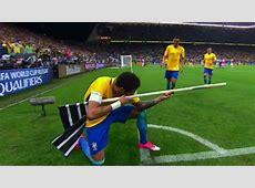 Neymar sniper celebration for Brazil could mean Fifa