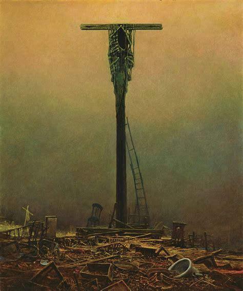 tableaux chambre l 39 apocalyptique et dystopique de zdzisław beksinski