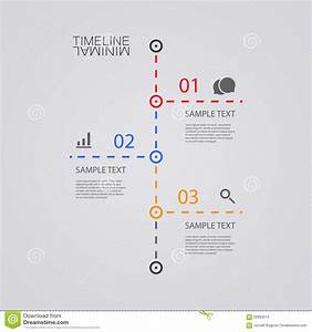 simple info graphics vector infographic timeline report design template stock