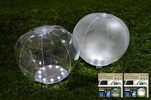 inflated beach ball shaped led solar lantern by green With led solar powered floor lamp apple shaped green