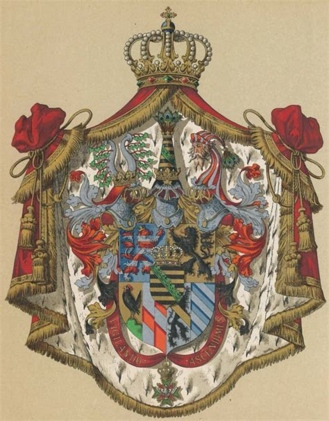 Die bevölkerungsentwicklung des bundeslandes sachsen gemäß volkszählungen und neuesten amtlichen schätzungen. Sachsen-Weimar-Eisenach - Wappen - Coat of arms - crest of ...