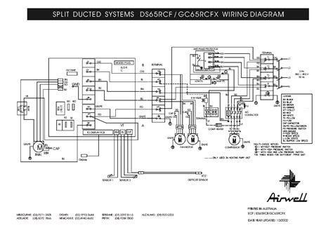airwell ds 65rcf gc 65rcfx wiring diagram service manual schematics eeprom repair