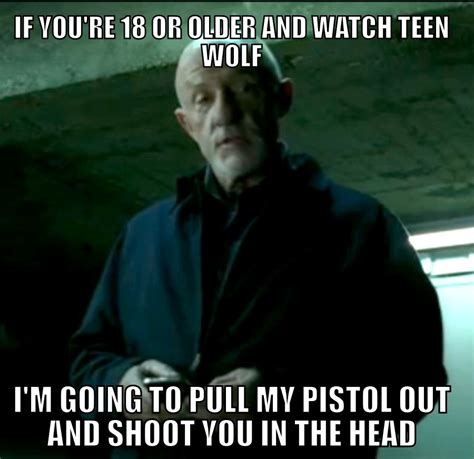 Teen Wolf Meme - teen wolf mike s threat know your meme