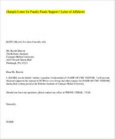 affidavit of support letter