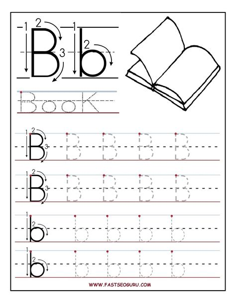 free preschool alphabet worksheets letter b worksheets for preschoolers printable letter b