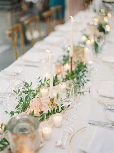 romantic and organic blush real wedding wedding table