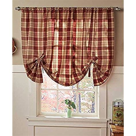 country kitchen curtains amazoncom