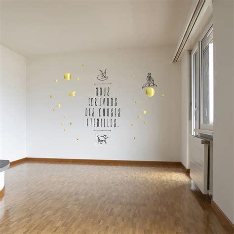 chambre petit prince le petit prince stickers nous écrivons des choses