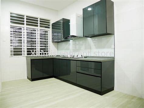 aluminium kitchen cabinet setia alam small kitchen
