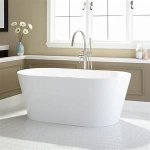 Leith Acrylic Freestanding Tub - Freestanding Tubs