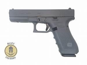 Glock Model 17  Gen 4  Full Gray