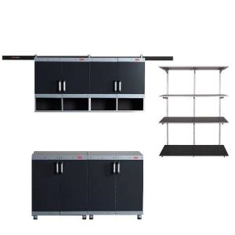 home depot kitchen cabinet organizers rubbermaid fasttrack garage laminate cabinet set with 7083