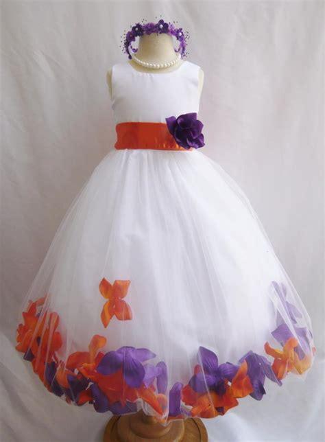wallaocom flower girl dress rose petal dress