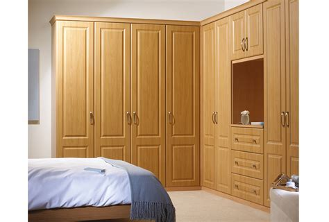 oak fitted wardrobe