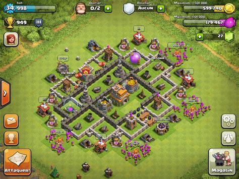 clash of clans base designs top 10 clash of clans town level 7 defense base design