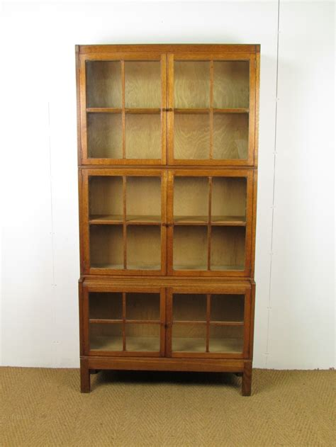 Heals Bookcase by Heal S Oak Sectional Bookcase Antiques Atlas