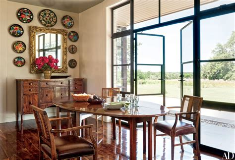 laura  george  bushs subtly rustic texas ranch getaway idesignarch interior