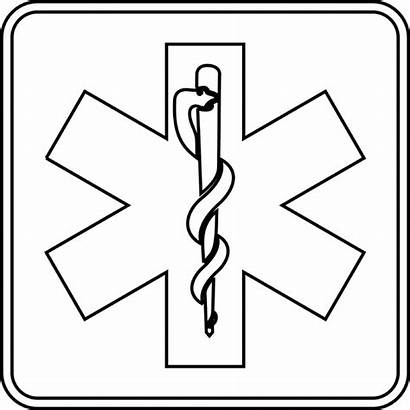 Clipart Outline Medical Emergency Services Etc