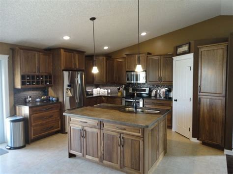 cardiff countertops acid wash brown traditional